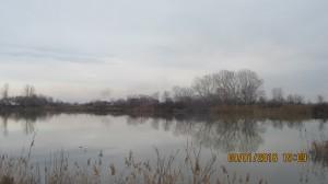 зима в голямото езеро