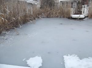 зимно езеро