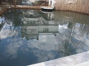 Езерото на крокодилите през март